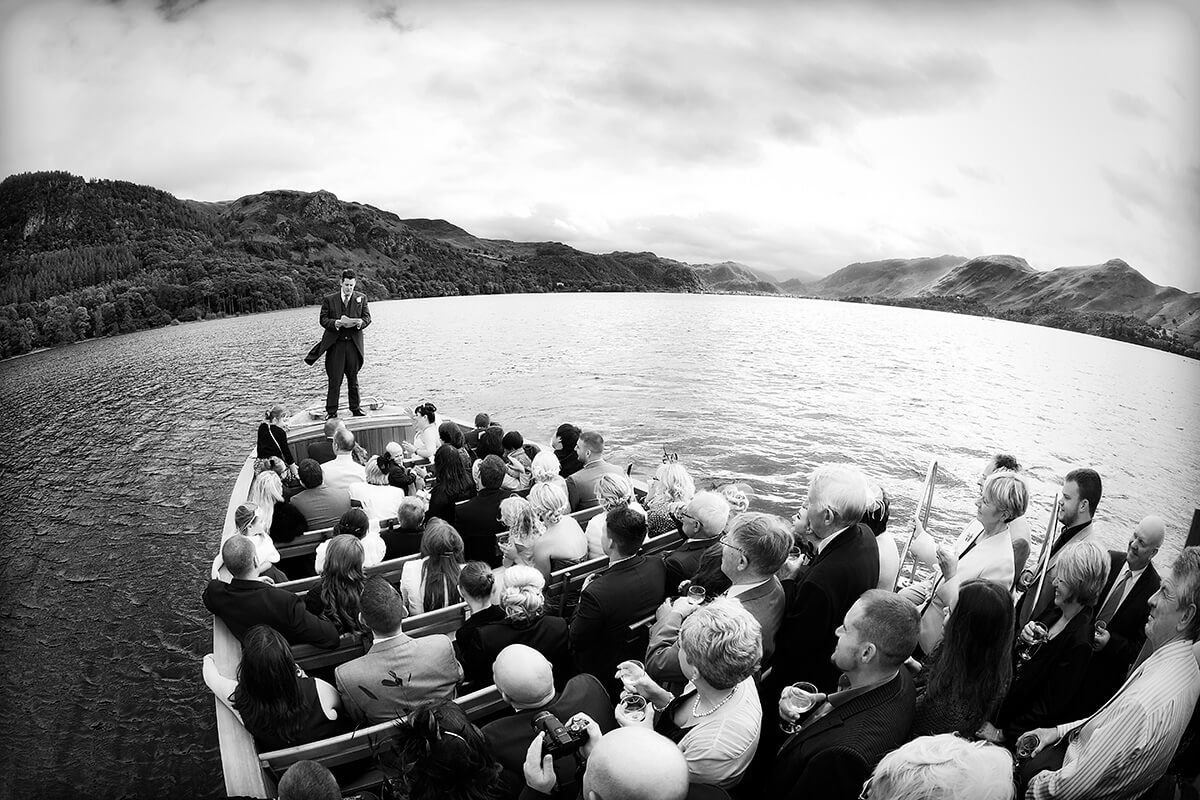 Keswick Launch Weddings