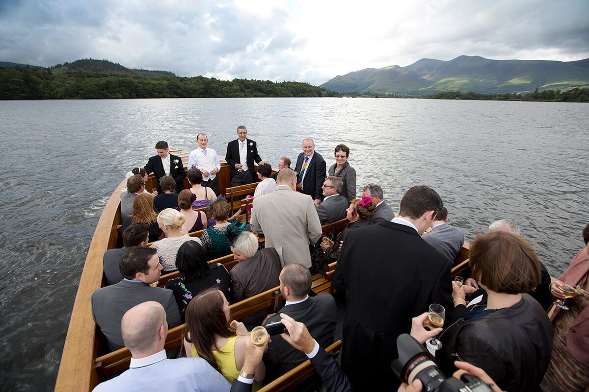 Wedding on Derwentwater