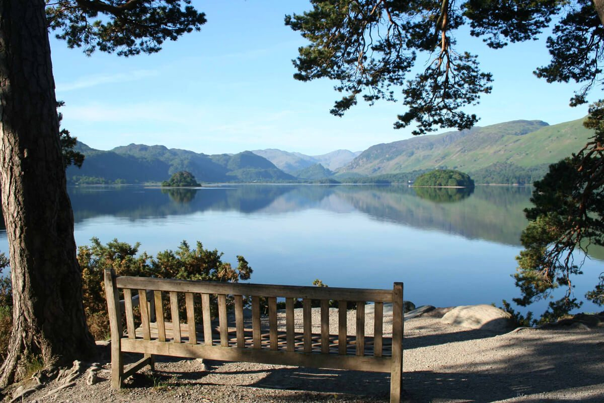 View across Derwentwater from Friars Crag, Keswick