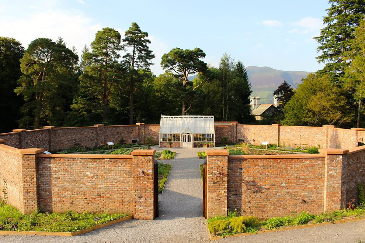 The Lingholm Walled Garden – Beatrix Potter's inspiration for Mr McGregor's garden in 'The Tale of Peter Rabbit'