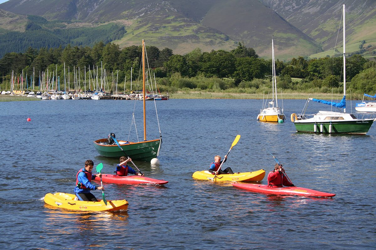 Kayaking hire and tuition at Nichol End Marine