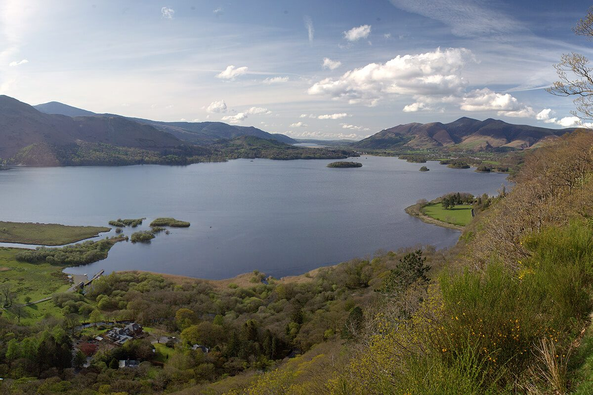 Surprise View looking across Derwentwater