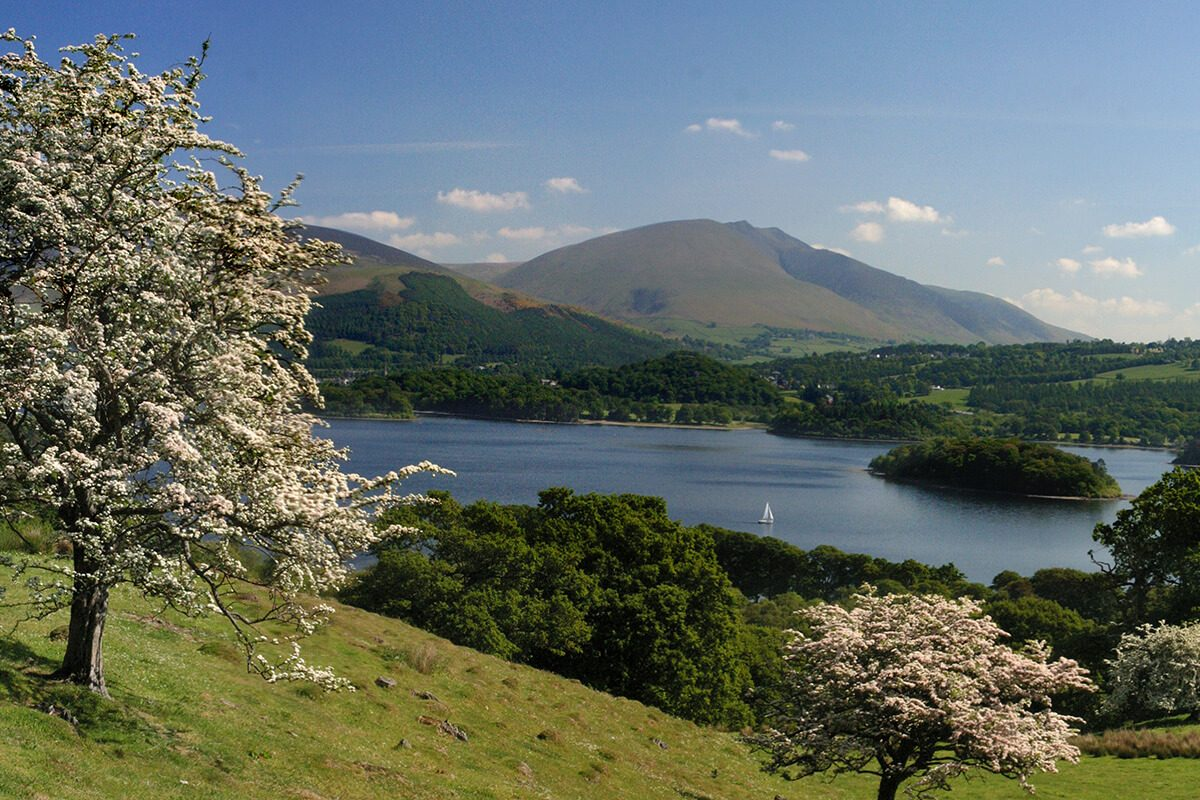 The views from Catbells change with every season