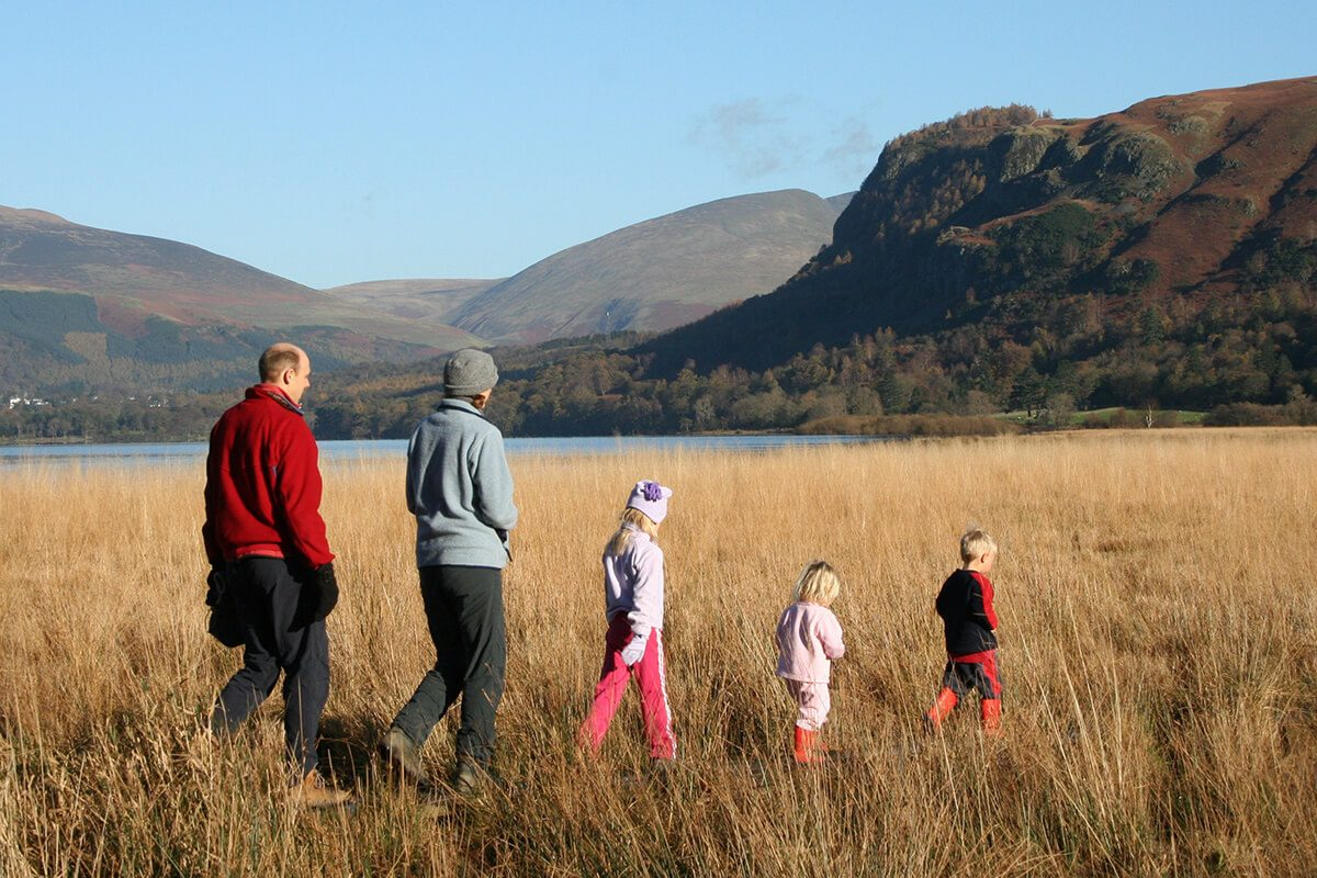 A great walk for adults and little ones