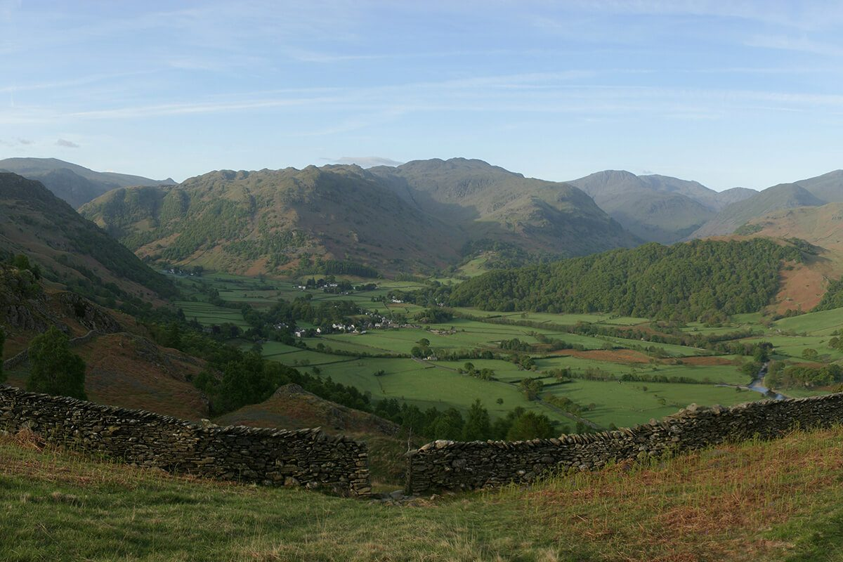 Rosthwaite Borrowdale Valley