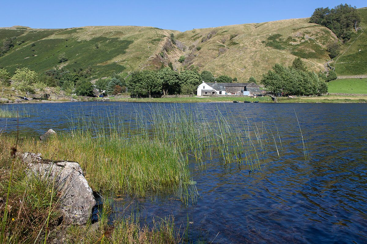 Watendlath is a popular place for fishing