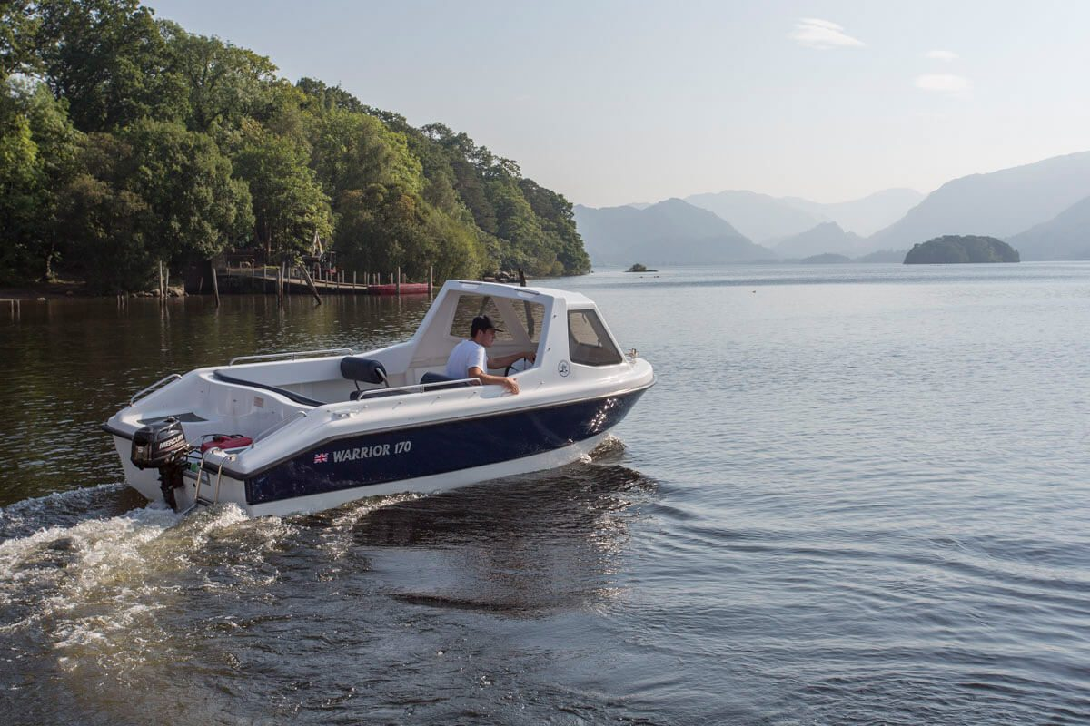 Motor Boat Hire Keswick Launch Co