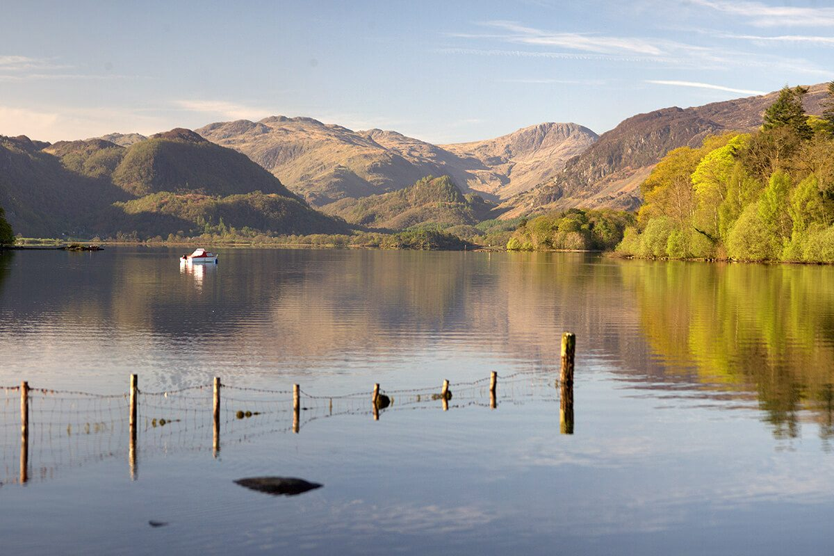 The Jaws of Borrowdale from Derwentwater