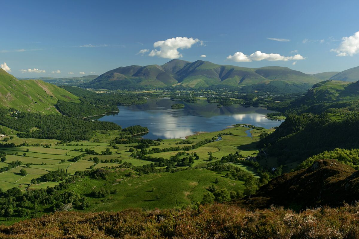 Derwentwater from Kings How